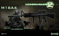 M16A4 on MW2 animations by DMG