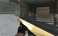 Tactical Golden AUG