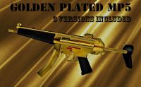 Golden Plated MP5