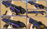 HK MP5 EOD- MP5 Blue