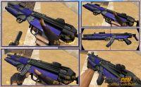 HK MP5 EOD- MP5 Blue