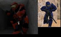 Red vs Blue Halo pack