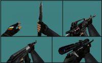 SAS Hands + HLTV models + BG flag