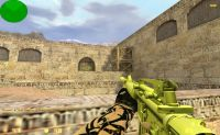 New GOLD m4a1 new tetures