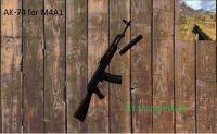 AK74 for M4A1