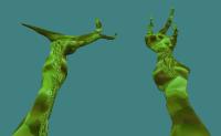 Alien NLO Hands