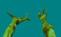 Alien NLO Hands (Podobreni Dvijeniq)