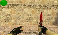Turkish Flag knife