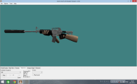 New Silver M4A1 By: PiXe-L