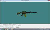 New Ultimate-GOLD  M4A1 By: PiXe-L