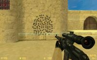 Bullets on wall  ;)