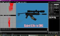 Hacked G36c to SMG