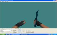 Knife blue (shadow)