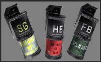 3 Nades / Комплект гранати