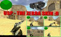 USP - THE ZEBRA SKIN