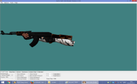 BLACK BLOODY CONDITION ZERO AK-47 WITH ARCTIC HANDS