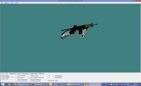BLACK GALIL WITH ARCTIC HANDS