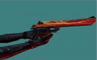 Deagle Lightning Red + Metal Hands