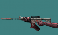 M4A1 Girl + Metal Hands Pink