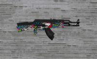 AK-47 Graffitti