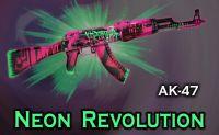 AK47 Neon Revolution/Неонова революция