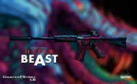 M4A1 | Hyper Beast skin