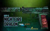 USP | Nightfire Dragon skin