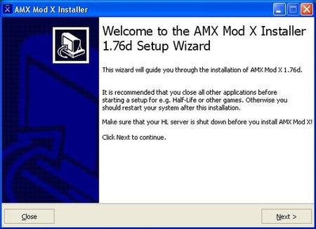 AMXX Install step 1