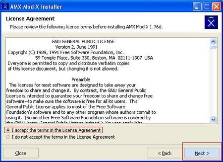 AMXX Install step 2