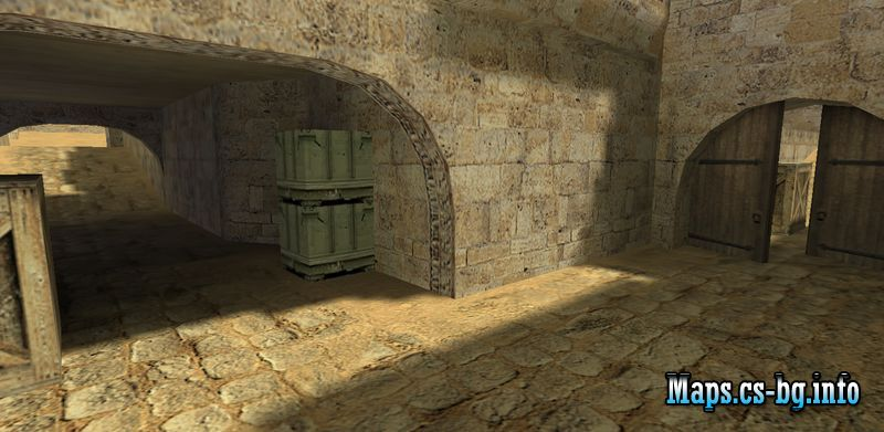 de_dust2 - CS 1.6 map • CS-bg on
