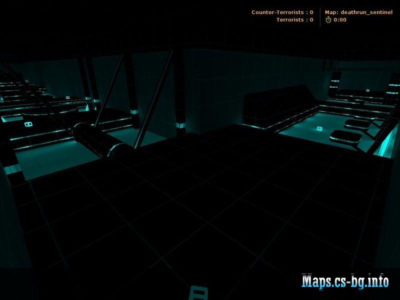 mapa deathrun hybrid