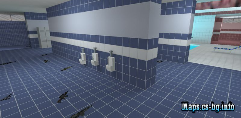 Counter strike 1.6 poolday map